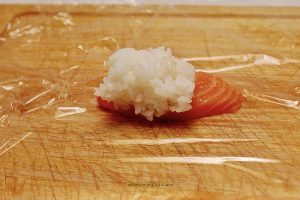 Layer temari sushi