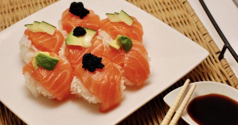 Temari Sushi | Turn, fold & twist (sushi balls)