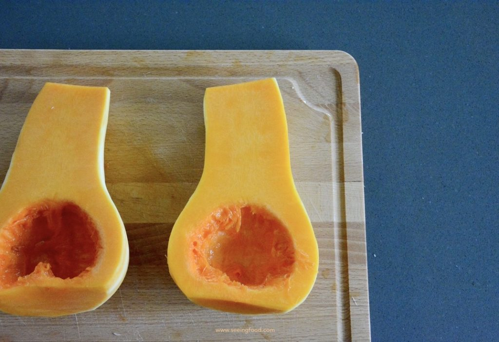 BButternut squash - peeled and seeded