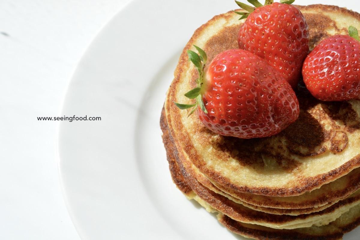 Banana oatmeal pancakes | Blender recipe
